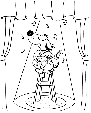 Performing Dog